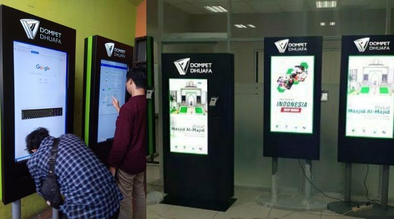 Dompet Dhuafa Vending Donation Kiosk